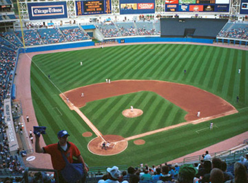 Ballpark Gallery - Comiskey Pa...
